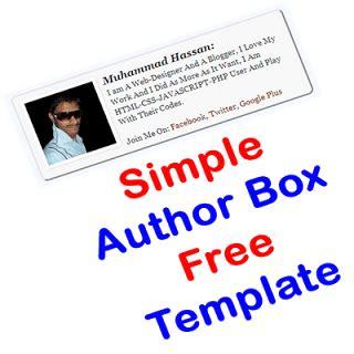 biography css templates author box template archive exeideas let s your mind rock