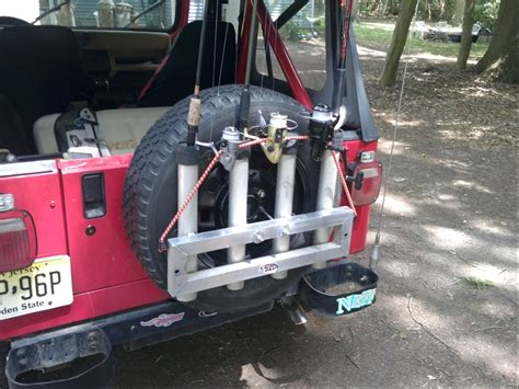 Jeep Fishing Pole Holder Jeep Fishing Rod Holders Car Interior Design