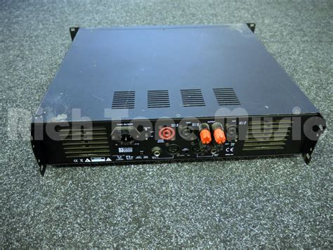 Power Lifier Second w audio da1000 power 2nd rich tone