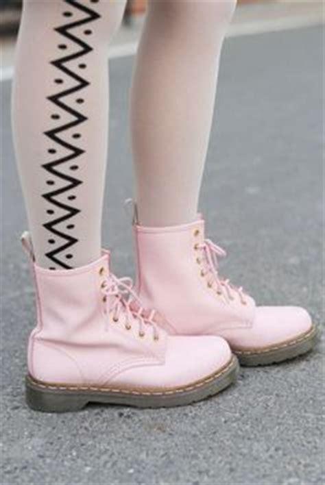 light pink doc martens light pink combat boots on the hunt