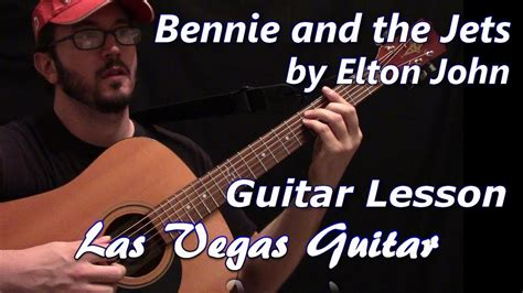 bennie and the jets bennie and the jets by elton guitar lesson