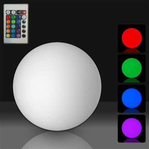 Lu Led Ultraviolet boule 233 tanche d 233 corative lumineuse multicolore led 216 30cm