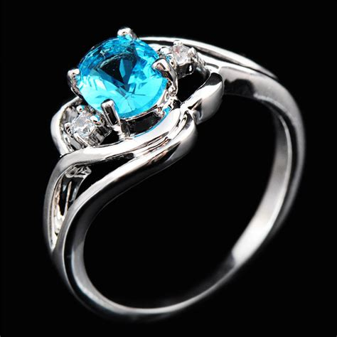 buy wholesale cheap aquamarine rings from china