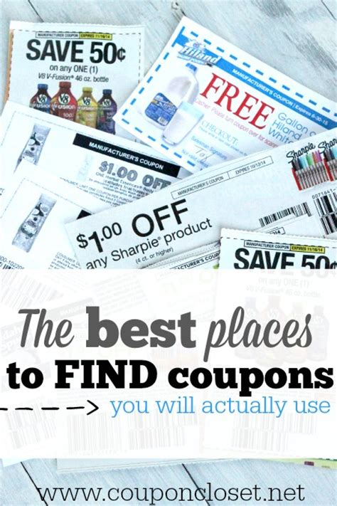 Coupon Closet by Top 6 Best Places To Find Coupons Coupon Closet