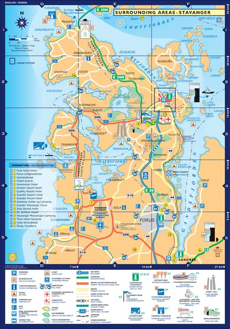 fjord in english stavanger guide maps stavanger city map norway english