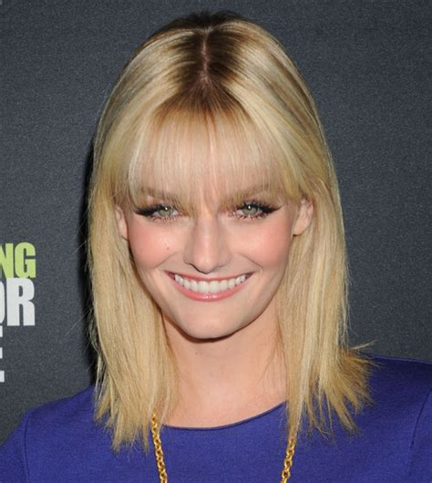 Lydia Hearst Dodges by Hairstyles With Bangs 2012