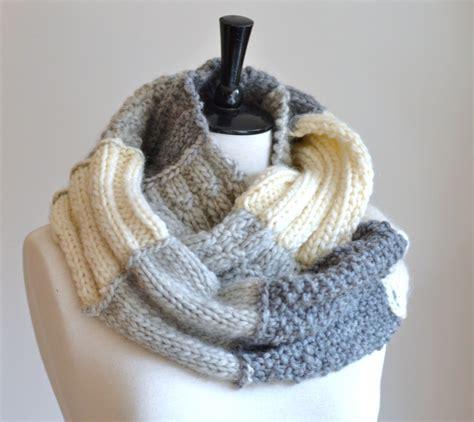 pattern knitting infinity scarf easy knitting pattern infinity scarf sler by