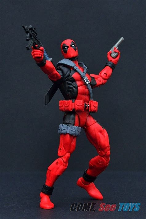 deadpool figure 90s come see toys marvel legends series 90s deadpool x
