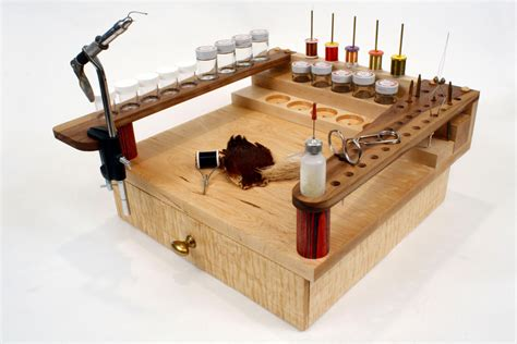 homemade fly tying bench fly tying bench with drawer