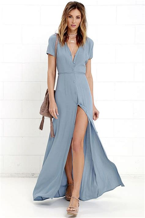 Suki Dress Maxi Bonita Navy 1000 ideas about maxi dress with slit on