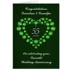 emerald wedding anniversary cards invitations zazzle co uk