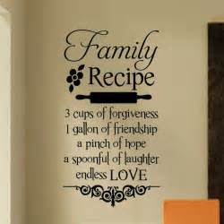 Shabby Chic Wall Stickers by Best 25 Kitchen Quotes Ideas On Pinterest