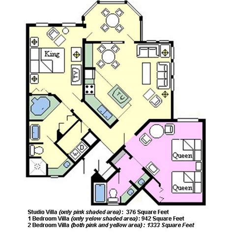 Disney Contemporary Resort Hospitality Suite Floor Plan - page has been moved ineedavacation