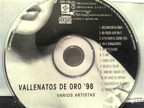 vdeos vallenatos vallenatos de oro 98 youtube