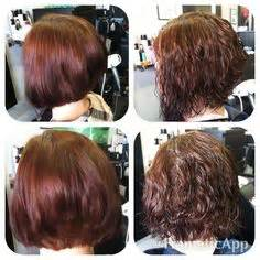 wave perm hairstyle before and after on hair 1000 images about before and after perm on pinterest