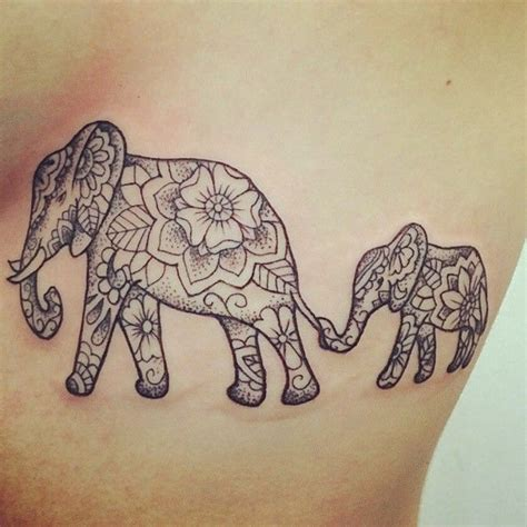 mother of two elephant tattoo tattoos pinterest 65 superb and unusual mother s day tattoo ideas to honor