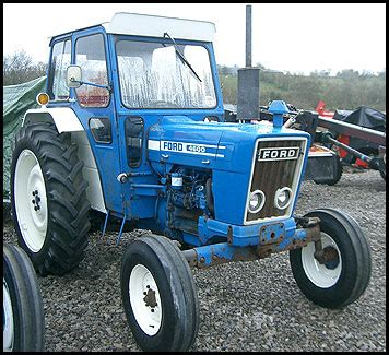 ford 4600 tractor attachments specs