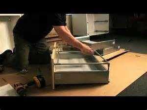 6 Kitchen Base Cabinet by It Range Pan Drawer Unit Assembly Part 2 Youtube