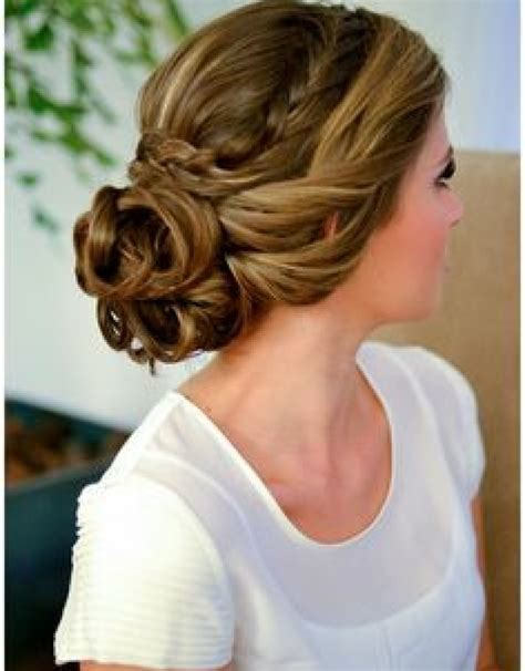 Wedding Hairstyles Cover Ears by Top 10 Curly Hair Updos 2015 Curly Braided Updo