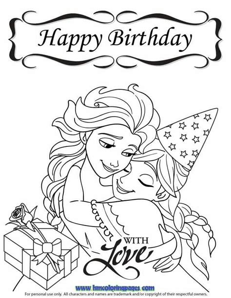 coloring pages christmas frozen 24 best disney frozen birthday coloring pages images on