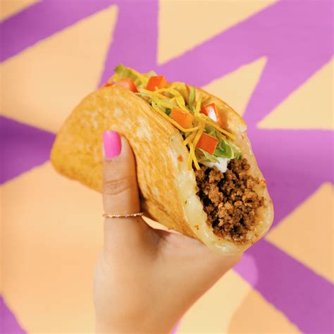 How Much Is On My Taco Bell Gift Card - taco bell releases new quesalupa cheesy taco shells combine chalupa and quesadilla