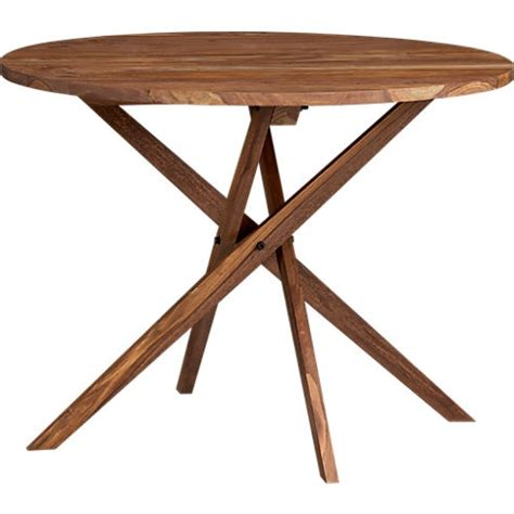 Cb2 Dining Tables Solid Wood Twist Bistro Table From Cb2 For The Home