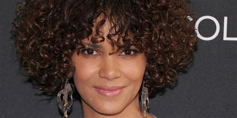 what does halle barre use in her hair to grt it to stand up on top halle berry on how she went short advice for her daughter