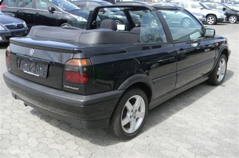 Golf Auto Billig by Golf Cabriolet K 248 B Vw Golf Cabriolet Brugt Billige