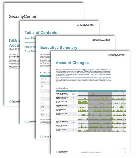 access report template iso iec27000 user access management sc report template