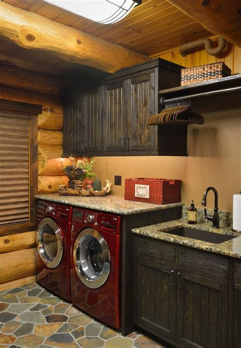 Rustic Laundry Room Ideas Laundry Room Rustic With Wood Rustic Laundry Room Decor