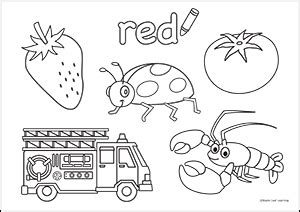 red coloring sheet maple leaf learning library