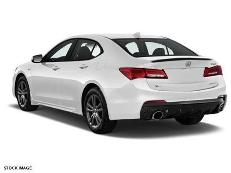 Tlx Exhaust Tips by 2018 Acura Tlx 2 4 Sedan Lease Special At 329 Month