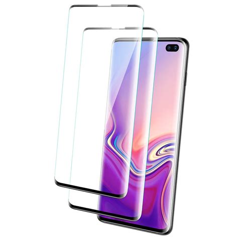 Samsung Galaxy S10 Glass by Galaxy S10 Plus Tempered Glass Coverage Screen Protector Esr