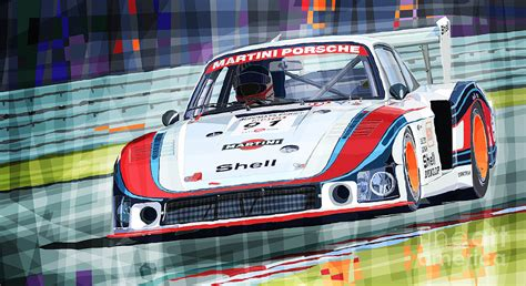 Porsche Racing Team by Porsche 935 Coupe Moby Dick Martini Racing Team By Yuriy