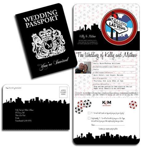 Unique Wedding Invitation Updates Las Vegas Wedding Invitations Templates