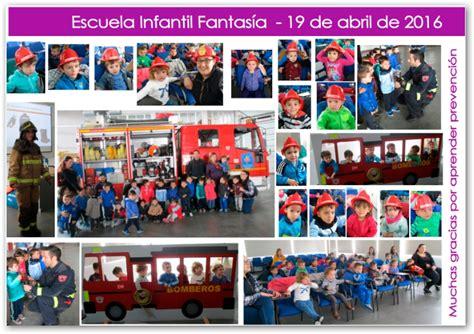 escuela de fantasa 8417059091 la escuela infantil fantas 237 a recorre el parque de bomberos servicio contra incendios