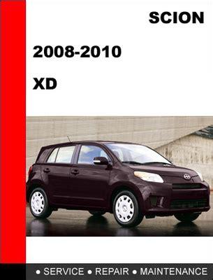 how to download repair manuals 2010 scion xd regenerative braking 2009 scion xd manual pdf