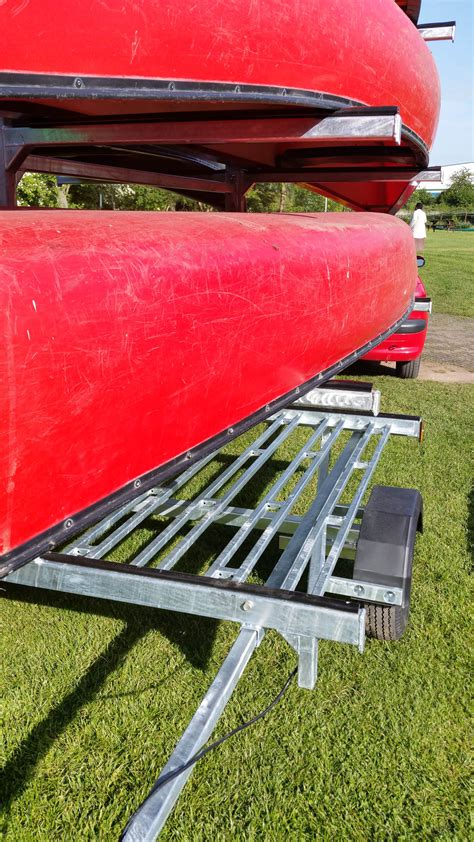 boat trailer lights not working on one side canoe kayak trailers trailus building bespoke trailers