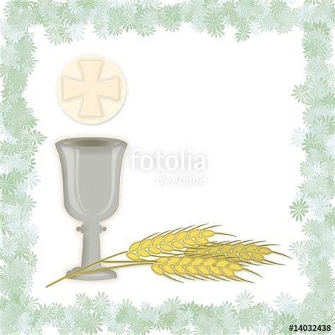 clipart prima comunione quot simboli della prima comunione con cornice quot immagini e