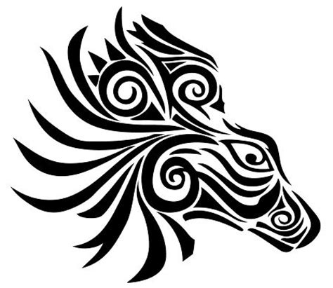 zebra tribal tattoo best 25 tribal animal tattoos ideas on