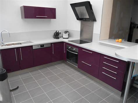 meuble de cuisine aubergine meuble cuisine aubergine