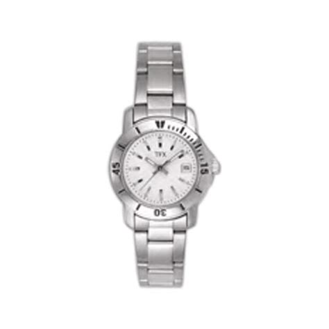 Bulova TFX Collection (TM)   Women's stainless steel watch with date display and sweep second