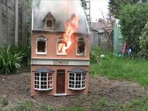 In Ground House Plans Dolls House Fire Youtube