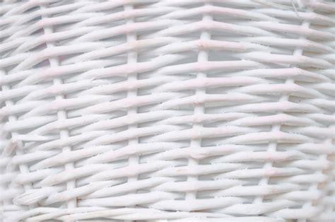 White Wicker by White Wicker Background Texture Free Stock Photo