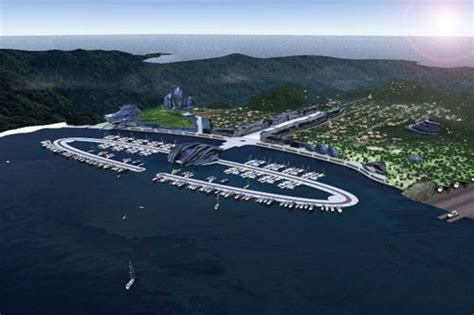 porto cinese baia d oriente il porto italo cinese yacht e vela