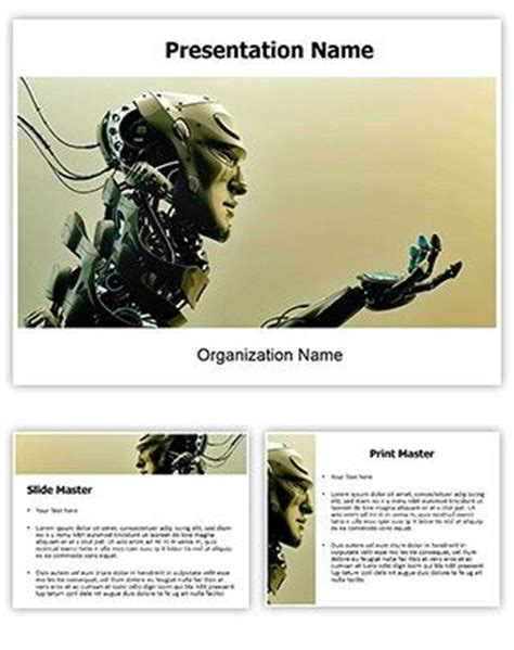 ppt templates for robotics free download 44 best free powerpoint ppt templates images on