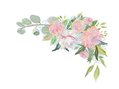 floral corner  deb quigg  dribbble