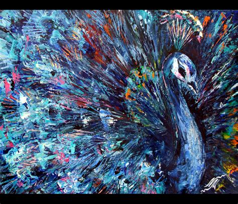 popular artwork peacock