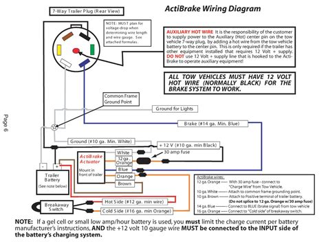 breakaway switch wiring diagram gooseneck trailer