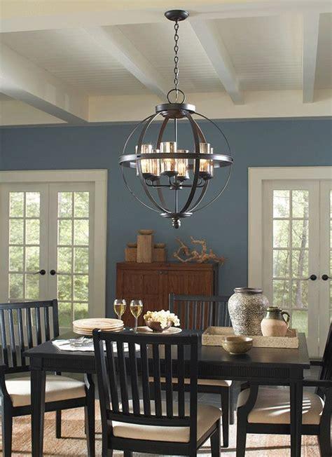 Chandelier: inspiring bronze dining room chandelier Oil